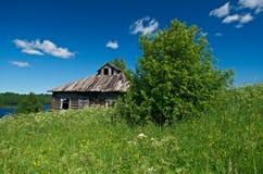 Старый сельский дом Стоковая Фотография