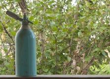 Старый сифон для воды соды стоковое изображение