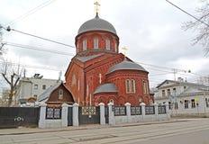 Старый собор верования заступничества Theotokos Pokrovsky moscow Стоковое фото RF