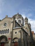 Старый собор в Дижоне, Франции Стоковые Фотографии RF