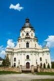 Старый собор в vilage Mykulynci Стоковая Фотография RF