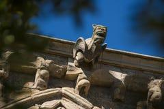 Старый собор Лериды, известный как ` Seu Vella ` Стоковые Фотографии RF