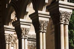 Старый собор Лериды, известный как ` Seu Vella ` Стоковые Изображения RF