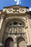 Старый собор Санто Доминго de Calzada, Испания Стоковая Фотография