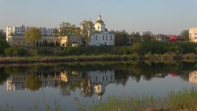Старый собор явления божества Полоцк, Беларусь видеоматериал