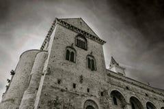 Старый собор Trani Стоковое Изображение