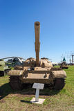 Старый советский T- 62 танка Стоковые Фото