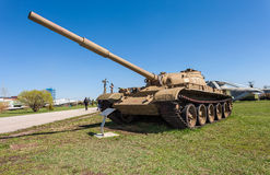 Старый советский T- 62 танка Стоковая Фотография RF