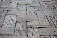 старый соткать бамбука Стоковые Фотографии RF