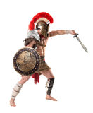 Старый солдат или гладиатор стоковые изображения rf