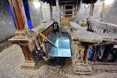 Старый солевой рудник Стоковая Фотография