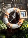 Старый спасательный пояс Стоковая Фотография RF