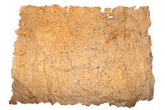 Старый список бумаги Стоковые Изображения RF