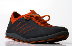 старый спорт ботинка Стоковое фото RF