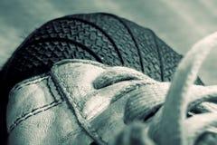старый спорт ботинка Стоковые Фотографии RF