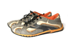старый спорт ботинок Стоковые Фото