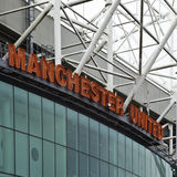 Старый стадион Trafford - Манчестер Юнайтед стоковая фотография