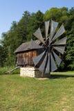Старый стан ветра стоковые фото
