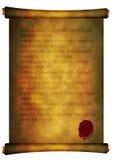 Старый стародедовский перечень Стоковая Фотография