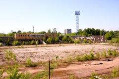 Старый стадион Стоковые Изображения