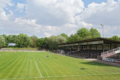 Старый стадион Altona в Гамбурге Стоковые Фотографии RF