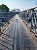 Старый стальной мост Стоковые Фотографии RF
