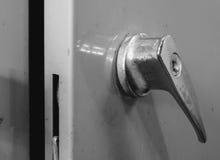 Старый стальной шкаф Стоковые Фото