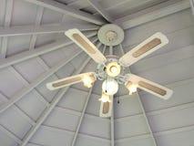 Старый стиль вентилятора в celling Стоковое фото RF