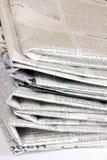 старый стог бумаг Стоковые Изображения RF