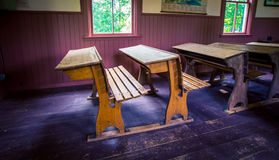 Старый стол школы моды Стоковое Изображение