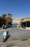 Старый строб города, Родос, Греция Стоковые Фотографии RF
