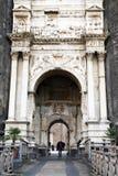 Старый строб замка Стоковое Фото