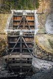 Старый строб замка Стоковая Фотография RF