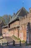 Старый строб Koppelpoort города в Амерсфорте Стоковое фото RF