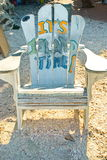 Старый стул острова Стоковые Изображения RF
