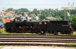 Старый словенский поезд Стоковое Изображение RF