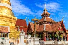 Старый тайский висок Стоковые Фотографии RF