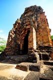 Старый тайский замок стоковые фотографии rf