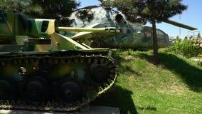 Старый танк в музее акции видеоматериалы