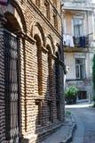 Старый Тбилиси, часть города Стоковое Изображение RF