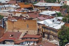 Старый Тбилиси, часть города Стоковые Изображения RF