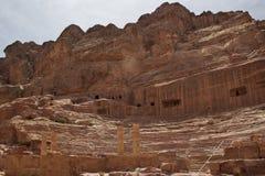Старый театр с столбцами стоковые изображения rf