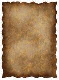 старый текстурированный пергамент Стоковая Фотография