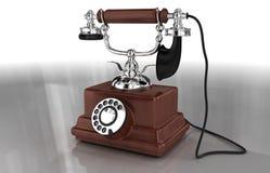 старый телефон Стоковое Изображение RF