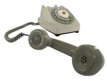 старый телефон стоковая фотография rf