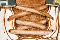 старый теннис ботинок Стоковые Изображения