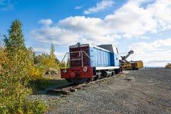 Старый тепловозный паровоз Стоковая Фотография