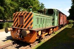 Старый тепловозный паровоз Стоковые Изображения RF