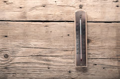 Старый термометр Стоковая Фотография RF