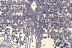 Старый технический чертеж как картина Стоковое Фото